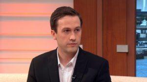 Ben White quits his job on live TV